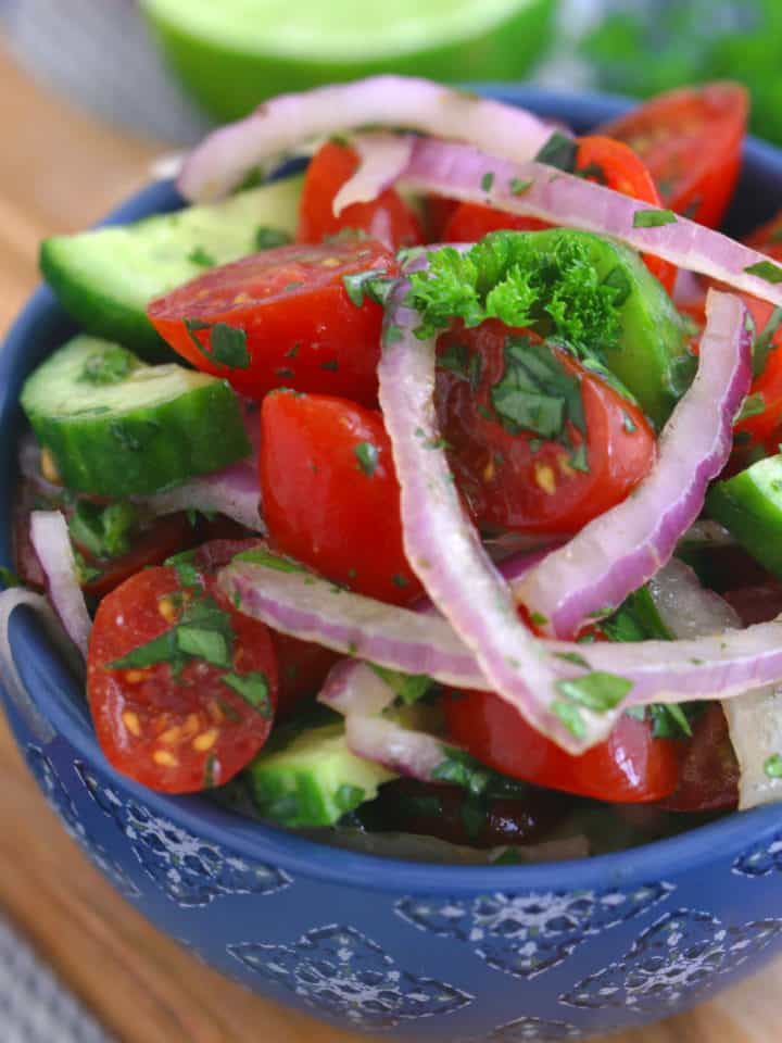 Indian Tomato and Onion Salad