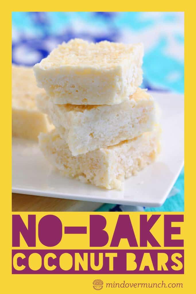 Keto No Bake Dessert Bars