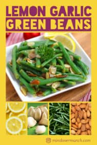 Lemon Garlic Green Beans