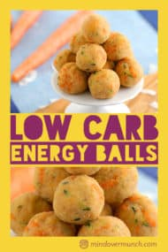 Low Carb Energy Balls