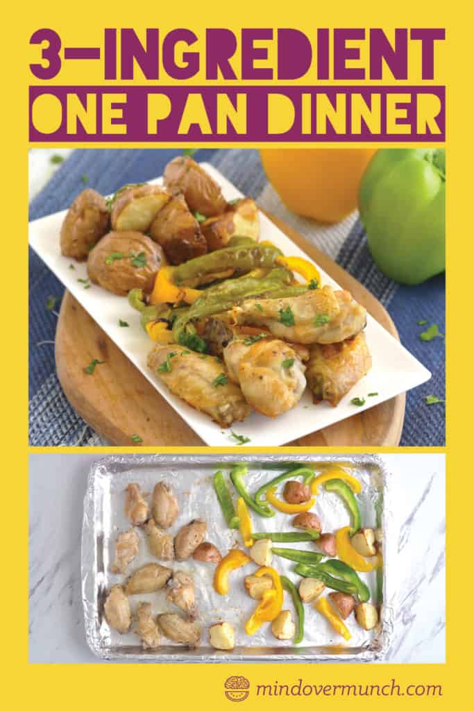 One Pan Baked Chicken Wings