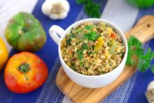 One Pot Rice Pilaf