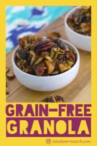 Low Carb Granola Recipe