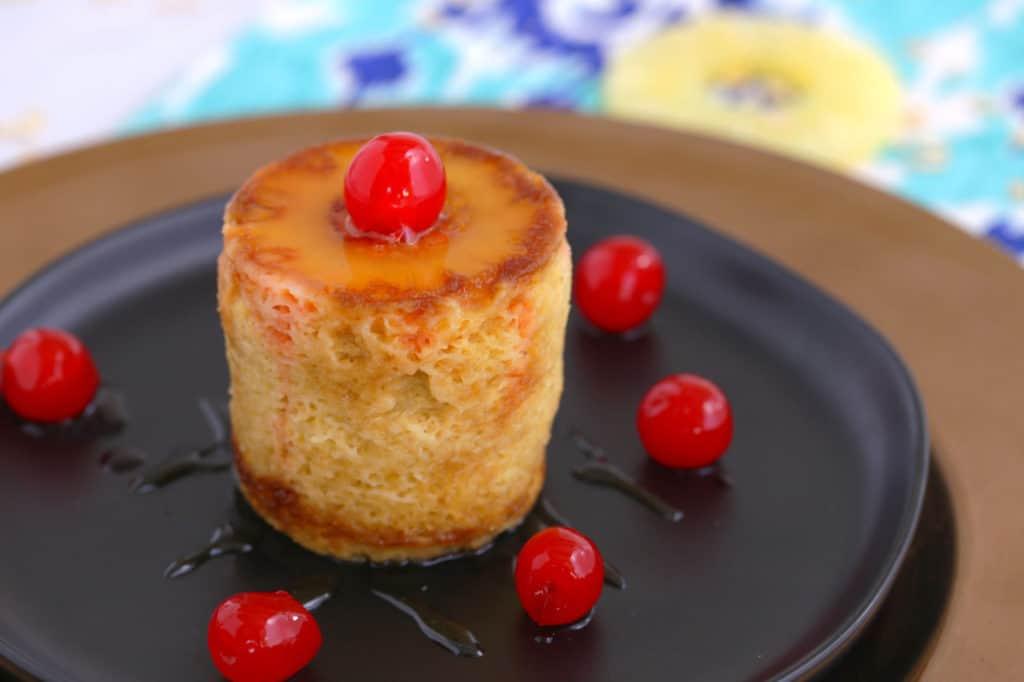 Pineapple Upside Down Mug Cake