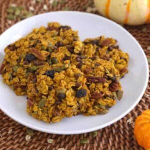 Pumpkin Breakfast Cookies