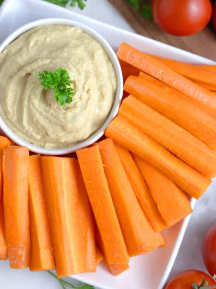 No Tahini Hummus