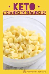 Sugar Free White Chocolate Chips