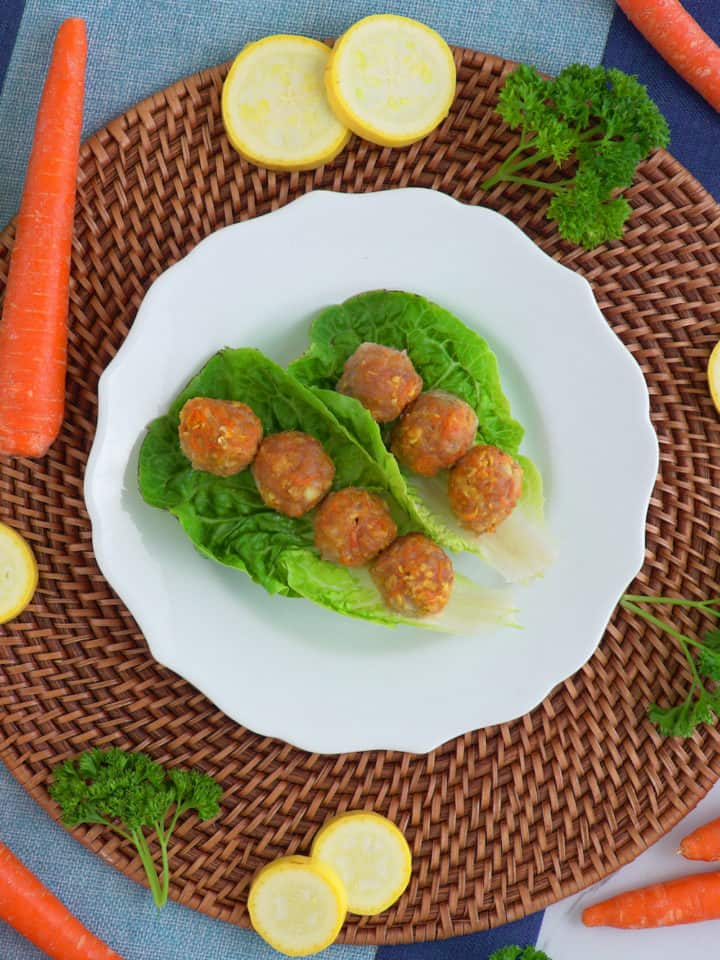 Turkey Veggie Meatballs