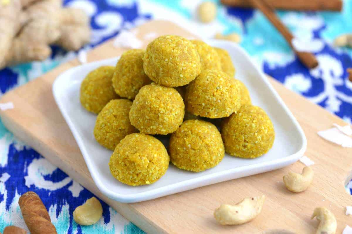 Turmeric No Bake Energy Bites