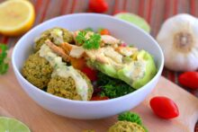 Vegan Hummus Bowl