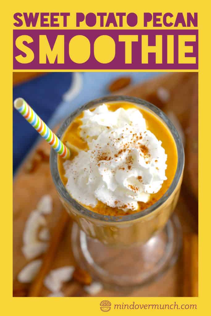 Vegan Sweet Potato Smoothie