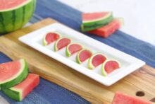Watermelon Jello Slices
