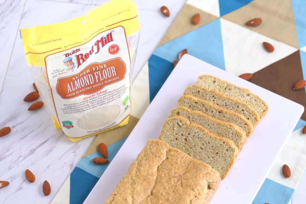 Low Carb Almond Flour Bread Recipe | Mind Over Munch