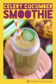 Cucumber Smoothie Recipe