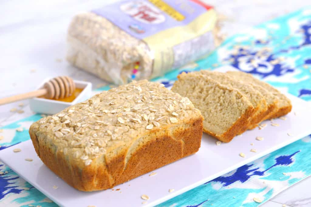 Gluten Free Honey Oat Bread Recipe Without Yeast | Mind Over Munch