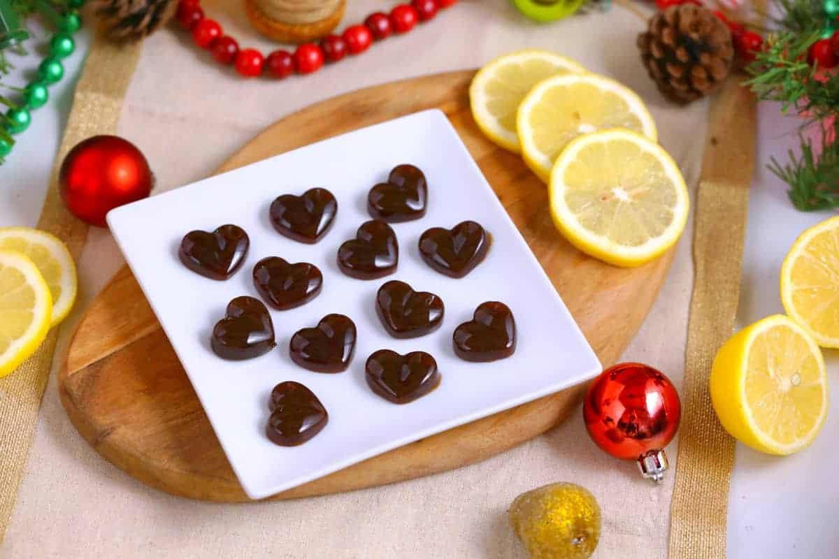 Homemade Lemon Drop Candy Recipe | Mind Over Munch