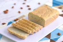 low carb bread recipe, grain free bread, almond flour bread recipe, paleo bread, Low Carb Almond Flour Bread