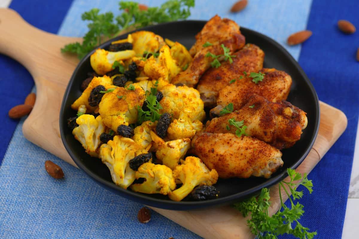 how to make crispy chicken wings, garam masala chicken wings, paleo chicken wings, whole30 meals, whole30 meal prep, best whole30 recipes, paleo meal prep, whole30 dinner ideas