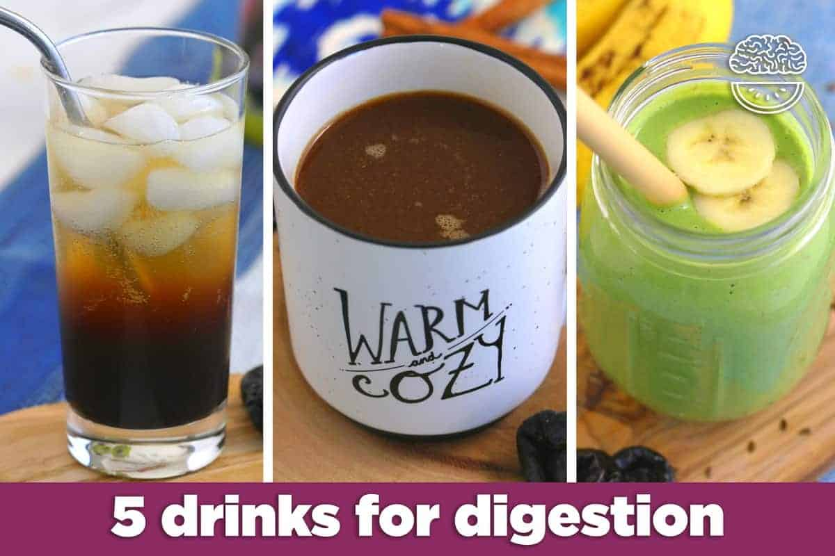 drinks for digestion, digestive drinks non alcoholic, sunsweet prune juice recipes, recipes with prune juice in them, prune juice for constipation, natural constipation relief, digestive health, prune juice benefits, high fiber drinks,