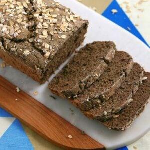 vegan gluten free bread, vegan bread recipe, vegan and gluten free bread, how to make vegan bread, gluten free bread recipe without yeast, rice flour bread, buckwheat flour bread, vegan gluten free oil free bread