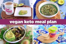 Soy Free Vegan Keto Meal Plan, vegan keto recipes, low carb vegan, vegan keto meal prep, vegetarian keto, vegan keto diet plan, low carb vegan breakfast, vegan keto dinner recipes, vegan keto dessert