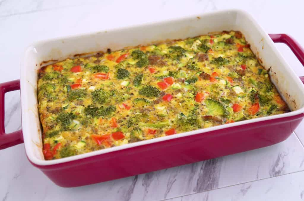 Keto breakfast casserole, sausage egg casserole, make ahead breakfast casserole, sausage egg bake, easy breakfast casserole, keto breakfast recipes, ketogenic breakfast, ketogenic recipes, easy keto recipes, low carb breakfast meal prep