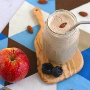 healthy drinks for digestion, prune smoothie, smoothie for constipation, digestive drinks non alcoholic, sunsweet prune juice recipes, prune juice benefits, high fiber drinks