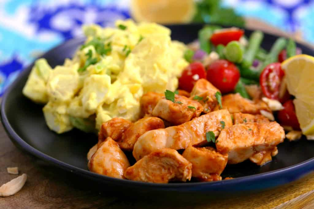 Grilled BBQ Chicken Bowl, barbecue chicken plate, grilled barbecue chicken breast, how to cook chicken tenderloins, grilled chicken strips, easy lunch recipes, clean bbq grilled chicken meal prep, grilled chicken tenders, cheap healthy recipes