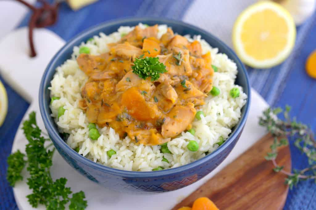 Apricot Chicken Recipe, how to cook apricot chicken, easy apricot chicken recipe, apricot chicken crock pot, pressure cooker recipes, best instant pot recipes, instant pot meals, pressure cooker rice
