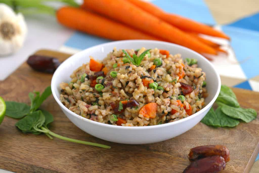 Instant Pot Risotto Recipe, vegetable risotto, vegetarian risotto recipe, risotto instant pot, instant pot recipes, vegan instant pot recipes, instant pot meals, how to make risotto in the instant pot