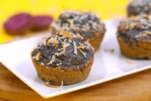 Oatmeal blender muffins gluten free, sweet potato muffins, sweet potato oatmeal muffins, sweet potato blender muffins, gluten free blender muffins, flourless oatmeal muffins, healthy sweet potato muffins, how to make oatmeal muffins without flour, healthy blender muffins