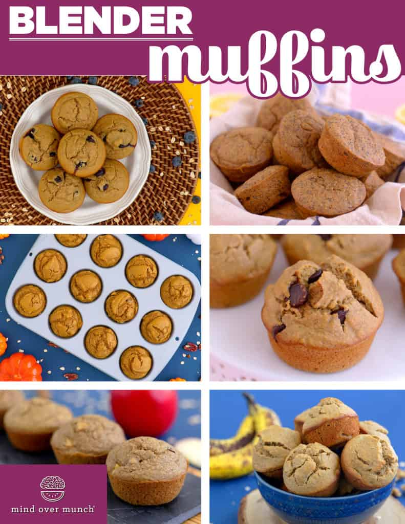 Healthy oatmeal blender muffins, no flour muffins, flourless oatmeal muffins, how to make flourless blender muffins, blender breakfast muffins, blender muffins oats, healthy oat muffins, baked oatmeal breakfast muffins, easy healthy muffins, meal prep breakfast ideas