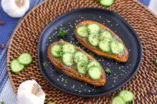 Vegan Sweet Potato Toast