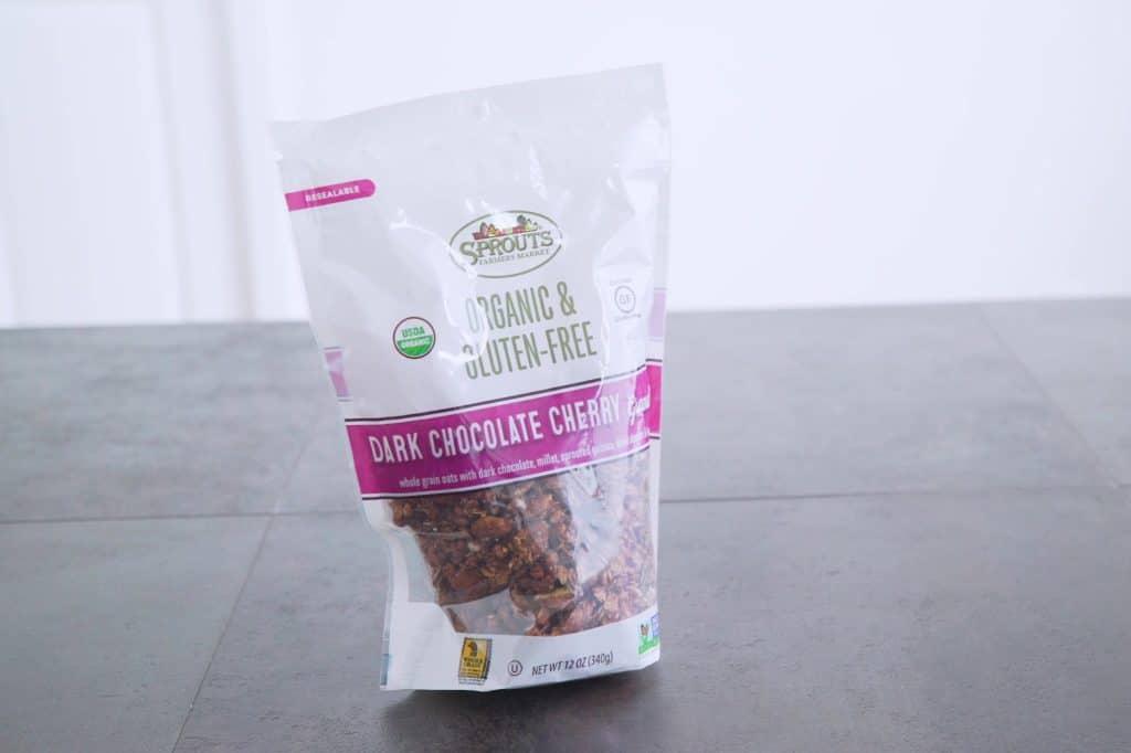 Gluten Free Dark Chocolate Cherry Granola