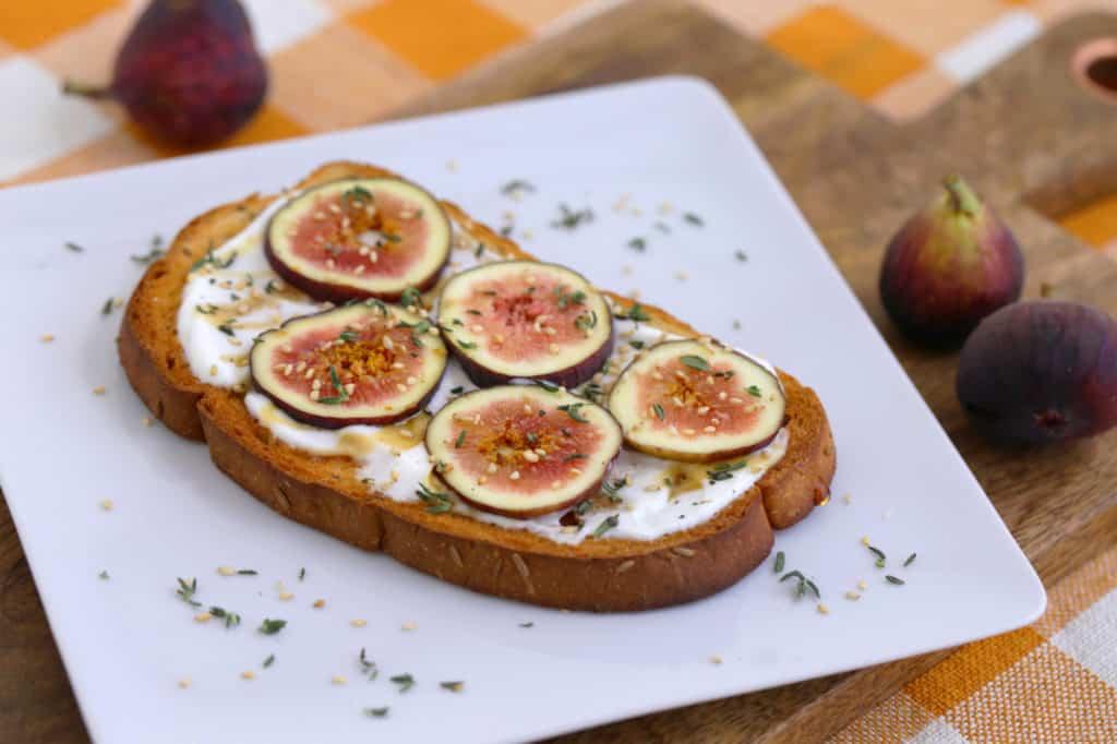 Fig Toast on Rye
