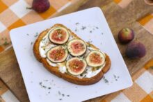 Sesame Thyme & Fig Toast