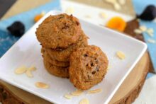 Grain Free Paleo Breakfast Cookies, paleo oatmeal cookies, paleo breakfast cookies, almond flour breakfast cookies, coconut flour breakfast cookies , paleo oatmeal raisin cookies, healthy breakfast ideas, breakfast meal prep, freezer breakfast cookies, breakfast freezer meals