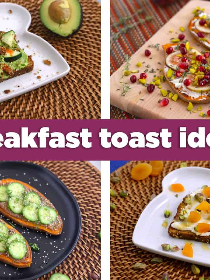 15 Healthy Breakfast Toast Ideas