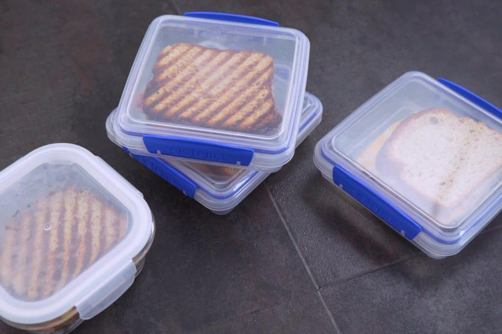 Frozen Sandwiches for School Lunches