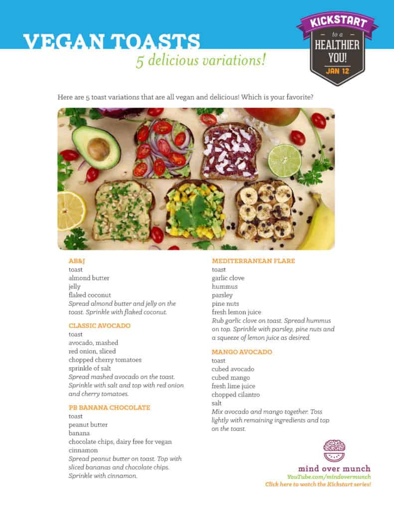 Vegan Breakfast Toast Recipes