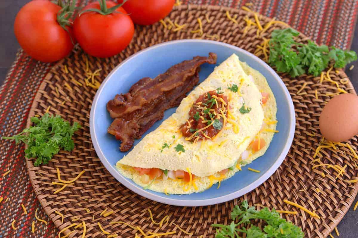 Microwave Omelette, Microwave Egg Omelet