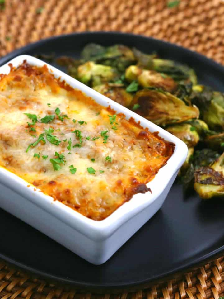 Mini Loaf Pan Lasagna, Make Ahead Lasagna to Freeze