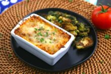 Mini Loaf Pan Lasagna, Make Ahead Lasagna Freezer Meal