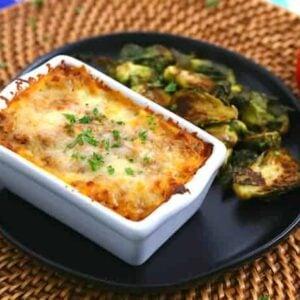 Mini Loaf Pan Lasagna, Make Ahead Lasagna Freezer Meal