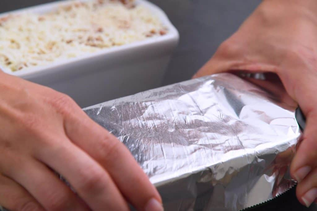 How to cook frozen lasagna