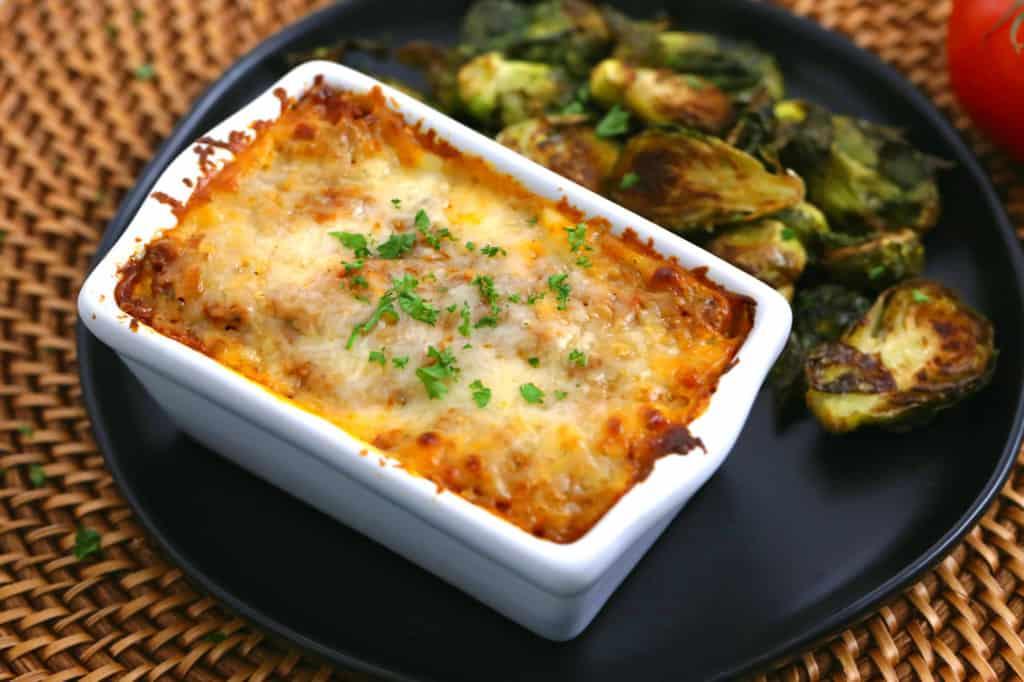 Beef Lasagna Freezer Meal