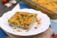 Keto Egg Casserole Recipe