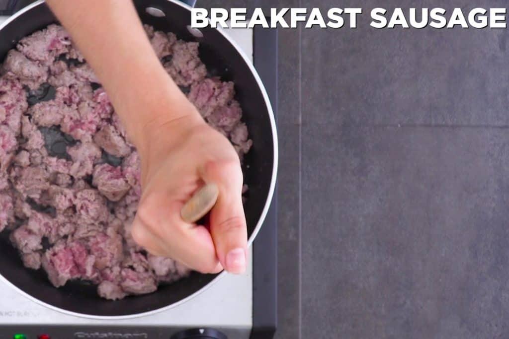 Keto Sausage Casserole