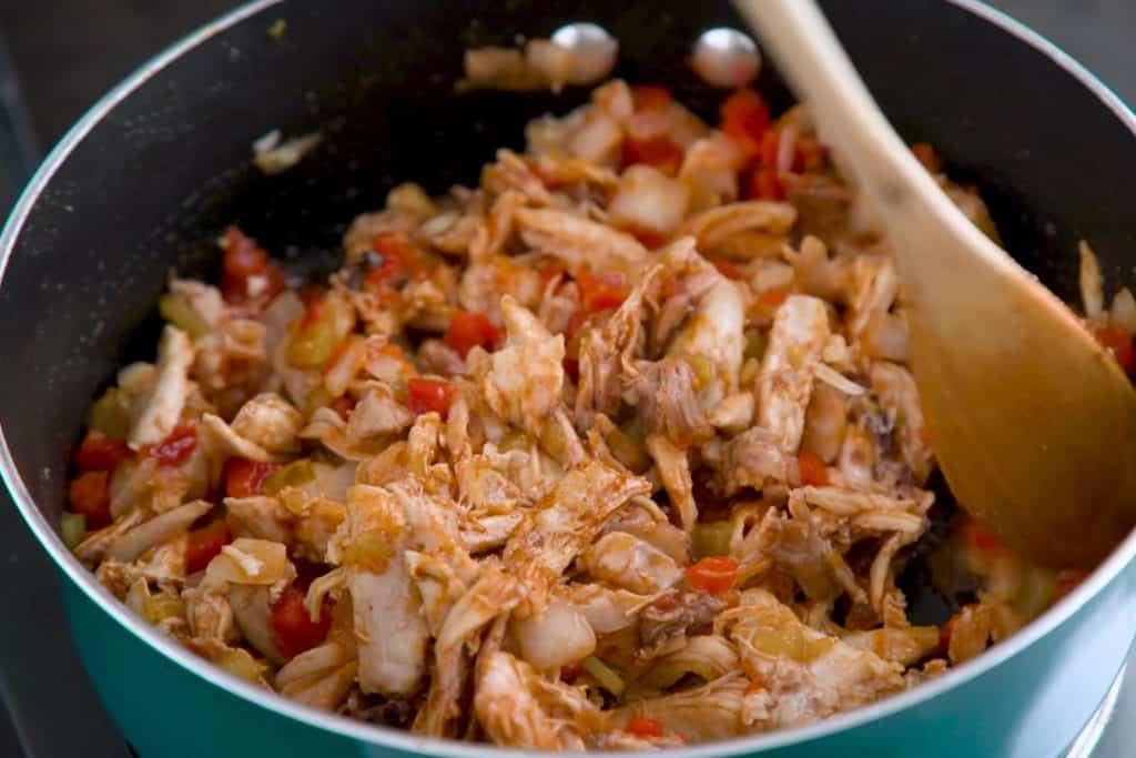 Keto Chicken Casserole Mixture