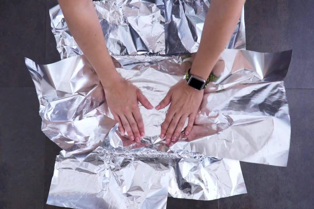 Keto Freezer Meal Foil Lining